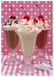 Classic American Diner Milk Shakes by theresahelmer