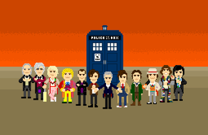 12 Doctors Pixel by CountJoshula