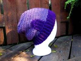 Purple Sorta Slouch by Phantasmfreud