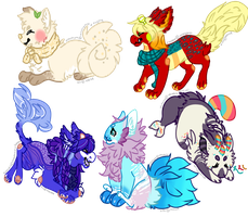 [Request] Chibi Batch 2 by alarmed-dingoes