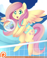 Beach ball Shy by Ende26