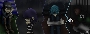 Gorillaz quit the band by noodleluv0951