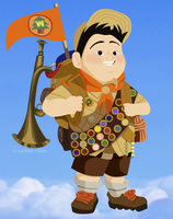 Russell: Wilderness Explorer by sokka-chan