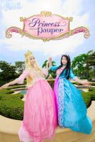 Barbie-Princess and the Pauper by usegieiri