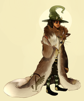 Witchsona (old) by MrGremble