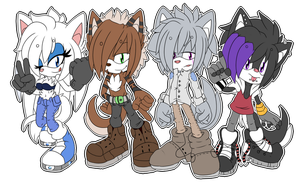 ::TEAM STARBEAT::Sonic Style by AshleytheWolff