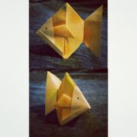Origami fish by Wendifer