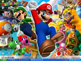 Mario Party 7 Wallpaper by xFlowerstarx