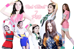 Red Velvet's PNG Pack {Various} by kamjong-kai