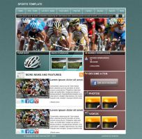 Template Sport 1 by w3nky