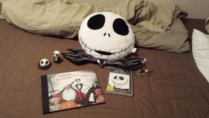 Nightmare before christmas stuff! by wolffuchs