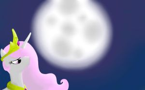 No Stars Tonight Luna? by Voicepotography