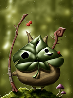 Link's Friendlist: Child of the Woods - Makar by Purrdemonium