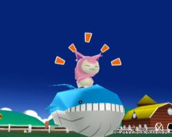 HOT SKITTY ON WAILORD ACTION by superphail