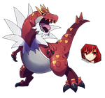 Pokemon Tyrantrum fanart render by OneExisting