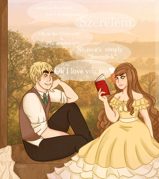 [aph] I love you too by Weniiii