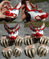 Kitsune doll pieces SOLD! by Khrests