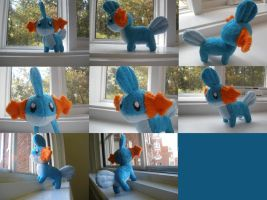 Mudkip Plush by HottieHulio