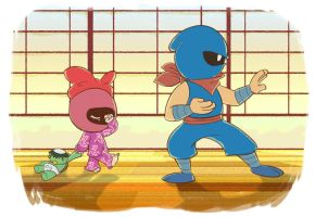 Daddy Daughter Ninja Day 1 by kevinbolk