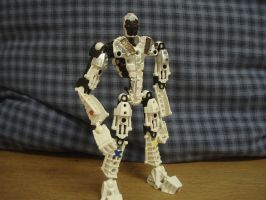 Bionicle-Kamen Rider Fourze by andrell