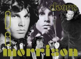 Jim Morrison by shoobedoowahh