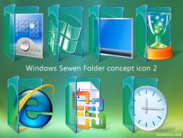 Win Sewen Folder concept icon2 by ziomekorko