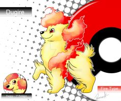 FAKEMON - Re-draw - DUGIRE by allocen