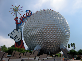 Epcot Spaceship Earth Stock 2 by AreteStock