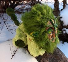 Forest Manticore - side view by Couch-stuffs