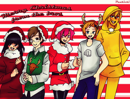 Merry Christmas 2013 by Punkichi