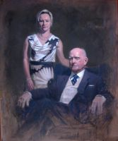 Portrait of Eva and Patrick by IanBaggley