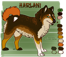 Harlani Ref by scrappster