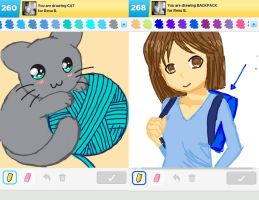 Draw Something!!! (Day 158) by Hedwigs-art