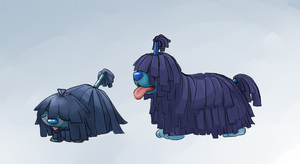 Fakemon: Wichon 'n' Mobtail by Dreamprotected