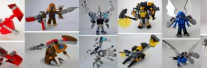 Kre-O Dinobots part two by Homicide-Crabs