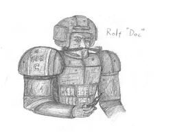 Rolf Doc, Only War OC by A-Pancake