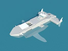 Nereide Grande Submarine-Test by Eddkun