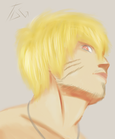 Adult Uzumaki Naruto (Realistic) by The-Darkness-God