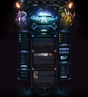 Mystical2 - Webdesign by King--Sora