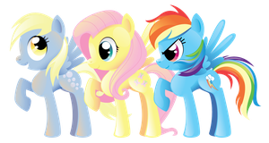 Pegasi Trio by SpaceKitty