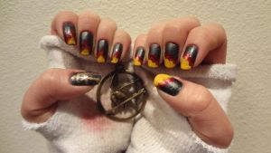 Hunger Games Mani by mistressling