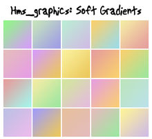 20 100x100 soft gradients by graphicdump