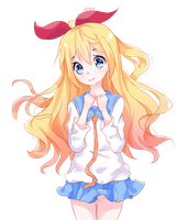 Chitoge Fanart (+Video) by minaru-art
