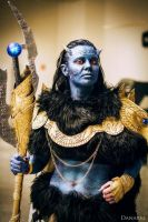 my jotun loki cosplay XD by ingridsand