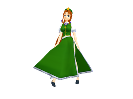 MMD Meiling Pose by GalaxyGuild
