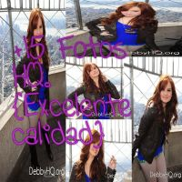 Debby Ryan Photopack 7.3 by PaoBelieberBabe