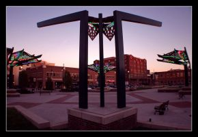 Old Town Plaza by factorone33
