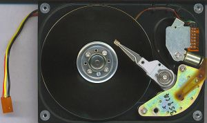 tech 04 - hard disk by n-gon-stock