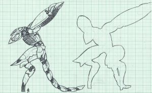 Metal Gear RAY Blueprint by SolidAlexei
