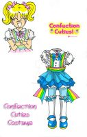 Confection Cuties Costume 4 by YuniNaoki